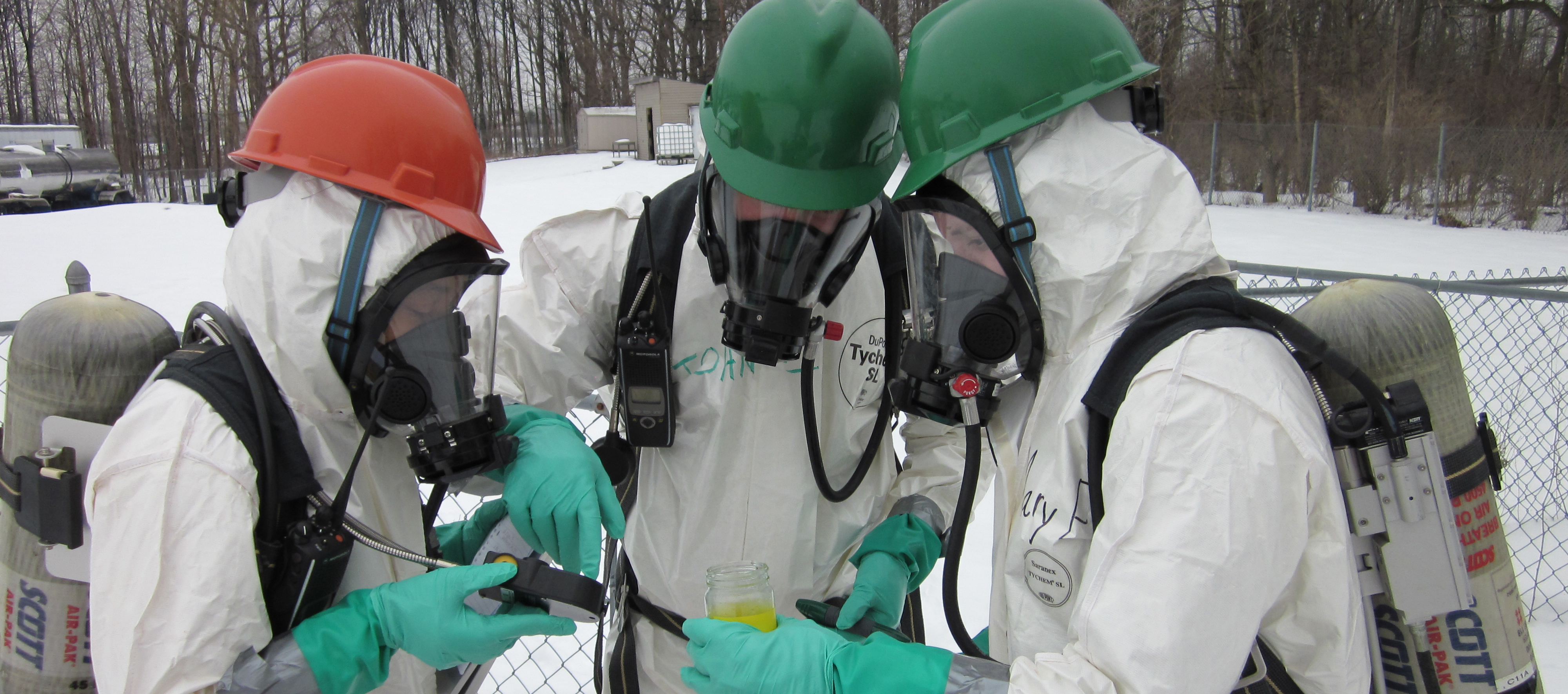 Hazwoper training wide