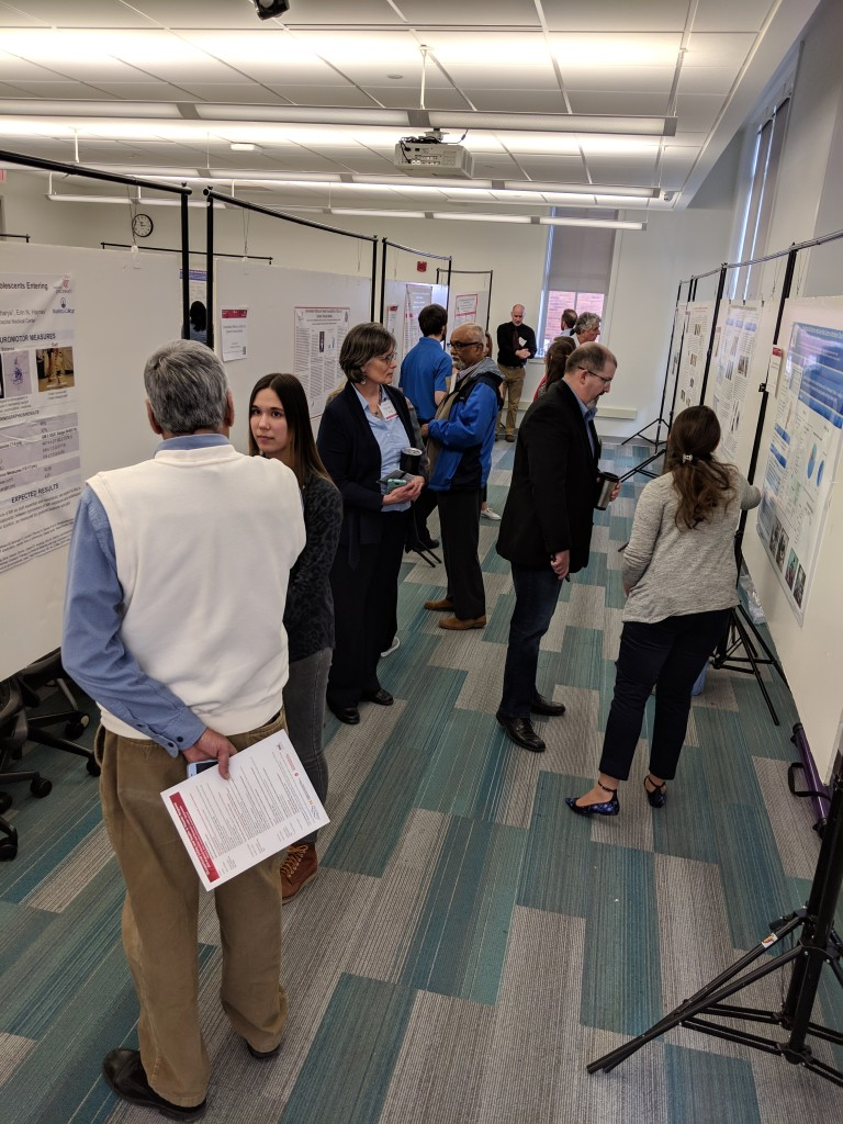 Poster session at the ERC Regional Research Symposium