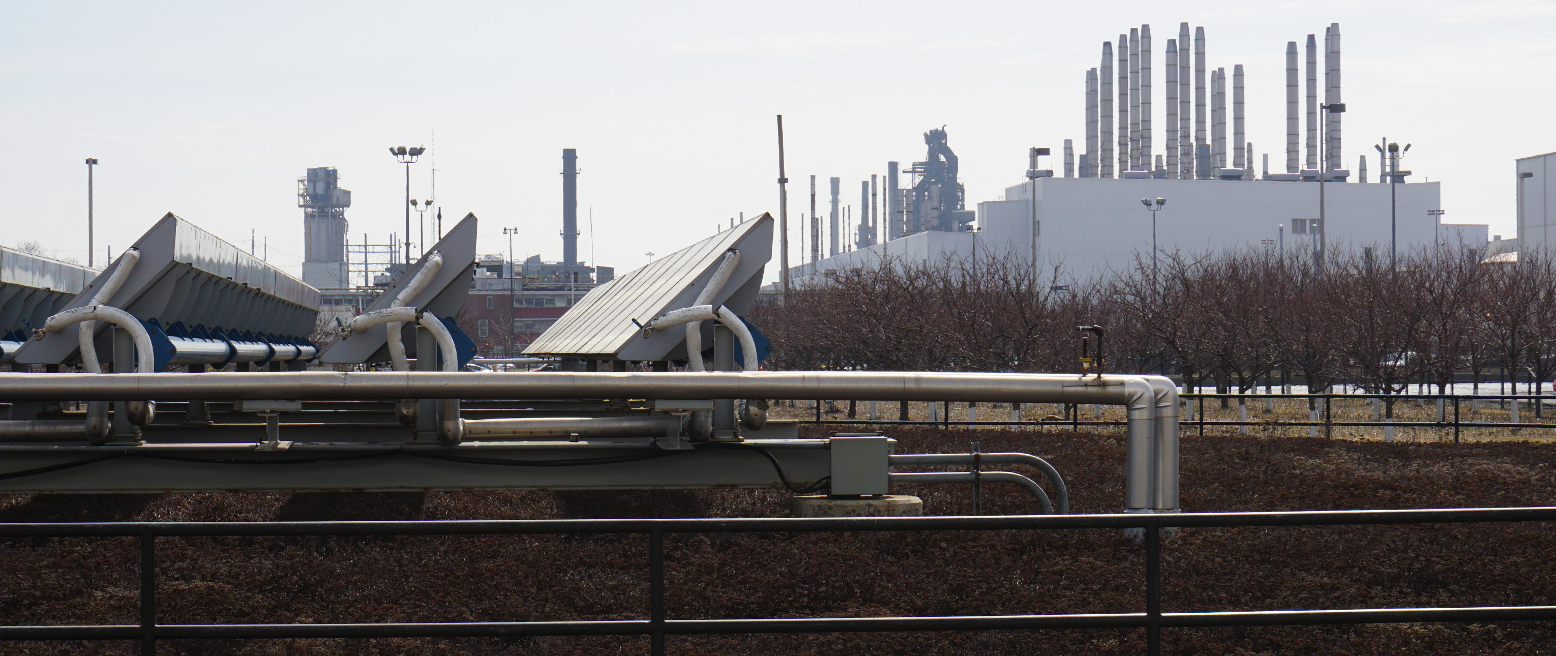 Solar Panels atop the Ford Rouge Plant